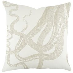 TheWatsonShop Octopus Cotton Throw Pillow & Reviews | Wayfair
