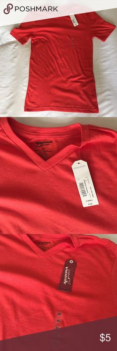 Arizona Jean Co. Orange V-Neck T-shirt Brand new Arizona Jean Company Shirts Tees - Short Sleeve