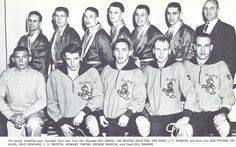 1956-57 Oregon wrestling team. From the 1957 Oregana (University of Oregon yearbook). www.CampusAttic.com