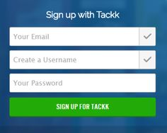 Be Tackky -- use Tackk for paperless assignments