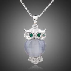 Cheap jewelry pendant, Buy Quality pendant necklace directly from China pendant jewelry Suppliers: AZORA A Bird of Minerva White Gold Color Stellux Austrian Crystal Jewelry Pendant Necklace Owl Pendant, Pendant Jewelry, Pendant Necklace, Crystal Jewelry, Owl Necklace, Necklace Chain, Shops, Gold Plated Necklace, Austrian Crystal