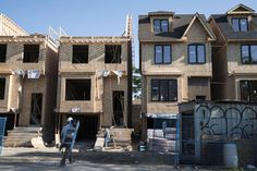 Real Estate Canadian housing starts' six-month upward trend hits decade high, CMHC reports Construction of multiple-unit projects in…