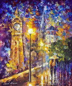 CHAPEL — Oil Painting on Canvas by Leonid #Afremov…