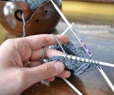 silmukoiden poimiminen kantalapun reunasta 4 Crochet Socks, Knitting Socks, Knit Crochet, Diy And Crafts, Pizza, Slippers, Tricot, Linen Fabric, Knit Socks