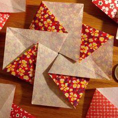 five japanese flower blossom tato: origami by easypeasyjapaneasy