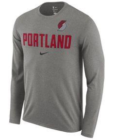 Nike Men's Memphis Grizzlies Essential Facility Long Sleeve T-Shirt - Brown XXL Trail Blazers, Mens Essentials, Sports Fan Shop, Baby Clothes Shops, Trendy Plus Size, Tshirts Online, Hooded Sweatshirts, Nike Men, Mens Tops