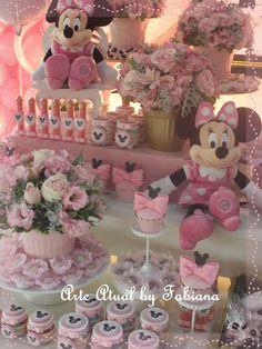 Bem Vindo!: Decoração Minnie Rosa