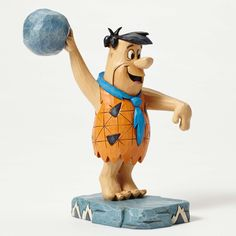 Item Number: 4051593 Material: Stone Resin Dimensions: 6.75 in H x 4 in W x 4 in L Folk art meets the Stone Age in Jim Shore's new collection featuring the beloved characters from Hanna Barbera's The