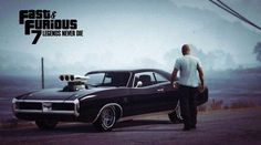 Fast and Furious 7 - Wallpaper