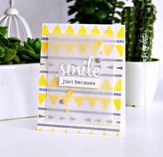 Such a Sunny card by Gayatri Murali using Winnie & Walter for the Simon Says Stamp Blog.