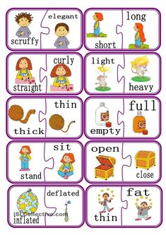 Opposites Worksheet for Kindergarten. 24 Opposites Worksheet for Kindergarten. Verb Opposites Worksheet – Have Fun Teaching English Grammar For Kids, Learning English For Kids, English Worksheets For Kids, English Lessons For Kids, English Games, Kids English, English Activities, English Language Learning, Teaching English