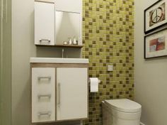 Gabinete para Banheiro com Cuba e Espelho - 2 Portas 3 Gavetas - Móveis Bechara Roma II