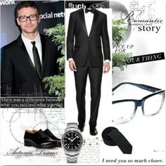 Justin Timberlake también lleva gafas