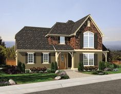 Craftsman House Plan with 1951 Square Feet and 3 Bedrooms from Dream Home Source | House Plan Code DHSW076503