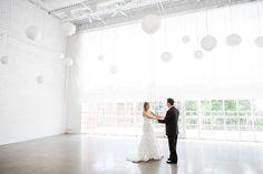 love this venue - Chicago Loft Wedding