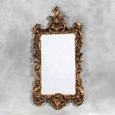 Reproduction Gold Chippendale Mirror from www.foreverinteriors.com.
