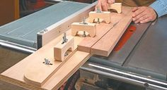 Adjustable taper jig! I was just sketching up ideas for something like this only yesterday.
