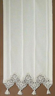 croshe curtain