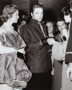 Elvis - December 15, 1956 - the day of Louisiana Hayride last performance.....  probably made after his performance
