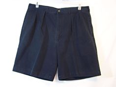 2149d88b2b Polo Ralph Lauren Mens Shorts Size 38 Pleated Chino Navy Blue Shorts Actual  37 #PoloRalphLauren #Pleated #Casual