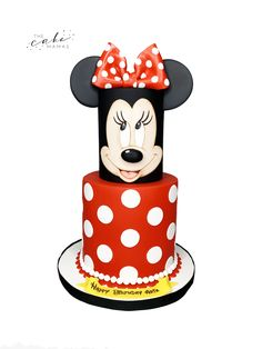 Call or email to order your celebration cake today. Click visit to learn more. Wedding Cakes With Cupcakes, Cupcake Wedding, Disney Themed Cakes, Minnie Mouse Birthday Cakes, Cakes Today, Cupcake Wars, Celebration Cakes, Disney Inspired, Custom Cakes
