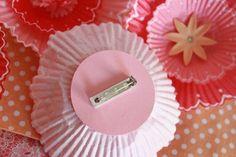 DIY: Cupcake Liner Bouquets