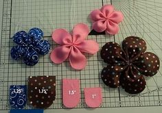 How to Make Watermelon Hair Bow Clips - this is absolutely PERFECT for summer! and it would go great with the watermelon dress pinterest.com/...