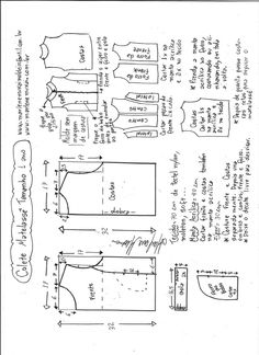 Amazing Sewing Patterns Clone Your Clothes Ideas. Enchanting Sewing Patterns Clone Your Clothes Ideas. Dress Sewing Patterns, Sewing Patterns Free, Clothing Patterns, Free Pattern, Fashion Sewing, Diy Fashion, Moda Fashion, Sewing Clothes, Diy Clothes