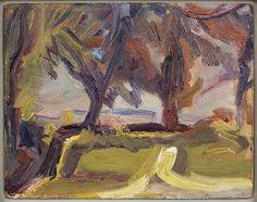 David Bomberg - Landscape