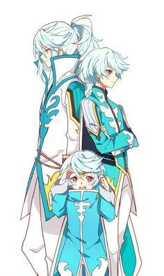 Tales of Zestiria - Mikleo Tales Of Vesperia, Tales Of Zestiria Mikleo, Character Concept, Character Art, Concept Art, Character Design, Manga Boy, Manga Anime, Anime Art