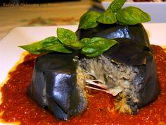 Budini di Melanzane - http://cucinasuditalia.blogspot.it/2011/10/budini-di-melanzane-con-mozzarella-di.html