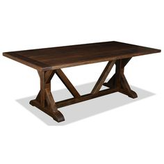 """South Cone Home Lucerne Dining Table 84"""" & Reviews 