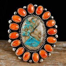 "LaRose Ganadonegro ""High Pueblo"" Ring sz 10.5  Sterling Silver Navajo"