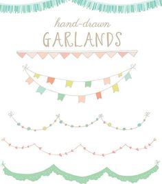 tassel garland vector - Google Search