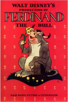 Ferdinand the Bull Masterprint