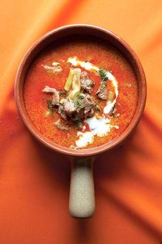 Palócleves - Lamb Soup with Sour Cream