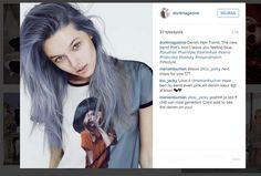 Denim-hiukset+ovat+nyt+hiusväritrendien+kuumin+juttu+–+katso+kuvat