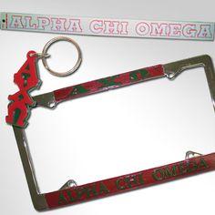 Alpha Chi Omega Car Package #Greek #Sorority #Accessories #Car #AChiO #AlphaChiOmega