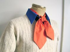 How easy?! 31in Ascot, Orange: be Fred from Scooby-Doo for your Halloween costume. $10.00, via Etsy.