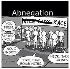 Haha Abnegation>>>This can also be interpreted as a race held in Canada Divergent Fandom, Divergent Funny, Divergent Trilogy, Divergent Insurgent Allegiant, Divergent Quotes, Insurgent Quotes, Tfios, Tris E Quatro, Good Books