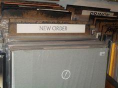 New Order - vinyl at Rebel Rebel Bleecker St.