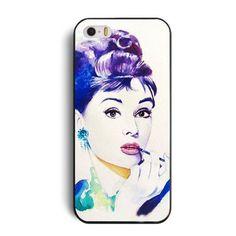 iPhone 5C case . Audrey Hepburn case on Etsy, $6.88