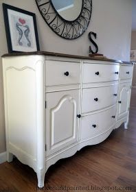 Picked & Painted: Custom TV Console