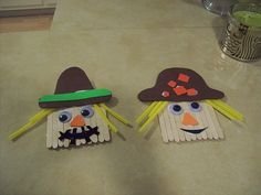 craft stick scarecrows = cuteness
