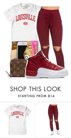 """First day as a freshman"" by maiyaxbabyyy ❤ liked on Polyvore featuring NIKE"