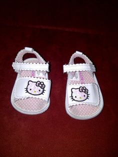 HELLO KITTY SANDELS 9/12 MONTHS!!! MUST GET FOR AMAYA'S LITTLE FEETZIES!