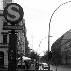 A cloudy, damp & moody Berlin morning.