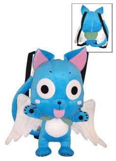 Fairy Tail Plush Bag: Happy