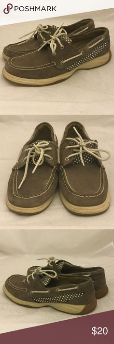 Sperry Top Sider Loafers Sperry Top-Sider Loafers Gray. Size 9. These loafers are end of season shelf pulls with little wear or blemishes. Sperry Top-Sider Shoes Flats & Loafers