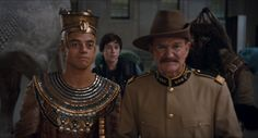 Rami Malek & Robin Williams in Night at the Museum - Secret of the Tomb (2014)